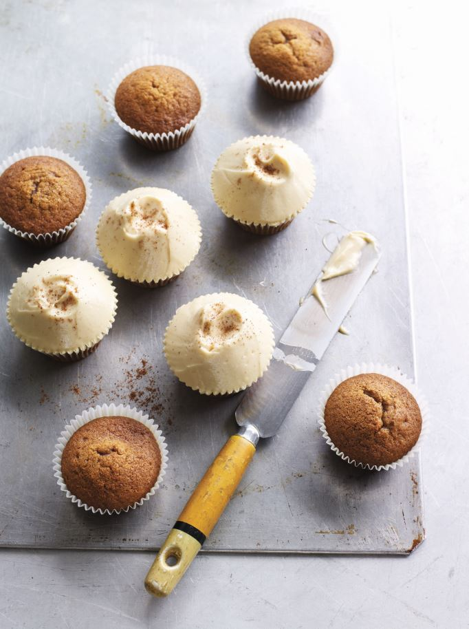 Pumpkin Chai Cupcakes Hummingbird 4th Estate